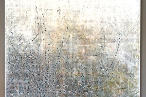 Untitled #7 - 2016 - (Mixed media Acrylic on canvas) - 60'' x 48'' x 1.5'' SOLD Private Collection